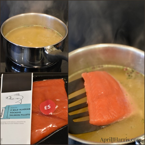 Step by Step Instructions for How To Poach Salmon to use in easy salmon recipes