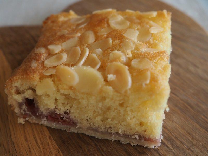 Raspberry Bakewell Tart Squares