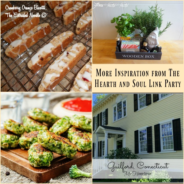 Exciting News at The Hearth and Soul Link Party - Features