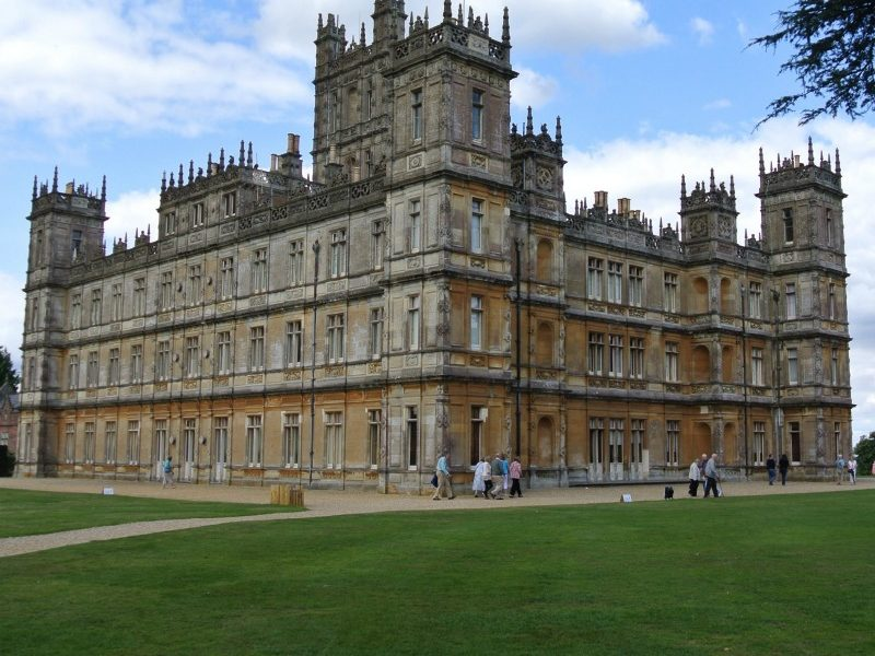 Highclere Castle - The Real Downton Abbey - Exterior view