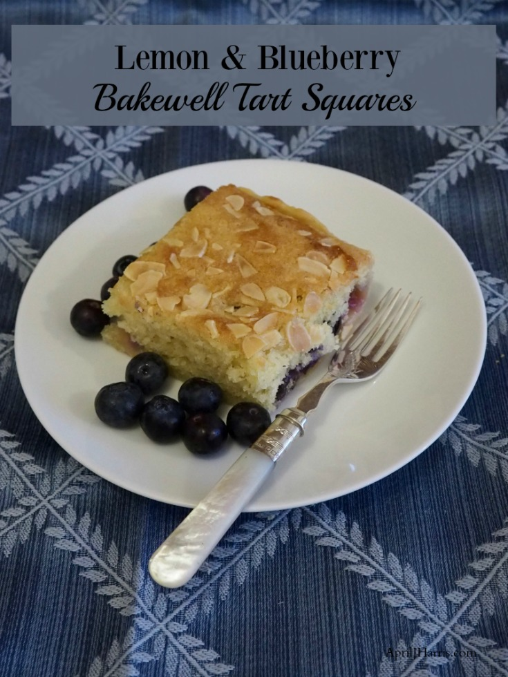 With sweet blueberries and a touch of lemon, my Lemon and Blueberry Bakewell Tart Squares Recipe are a delicious variation on traditional Bakewell Tarts.