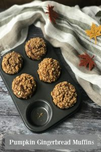 Warming and deliciously spiced, these Pumpkin Gingerbread Muffins were inspired by a visit to Grasmere in England's Lake District.