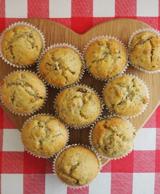 Perfect for using up over-ripe bananas, this recipe for Banana and Chia Seed Muffins is deliciously healthy and oh so easy to make