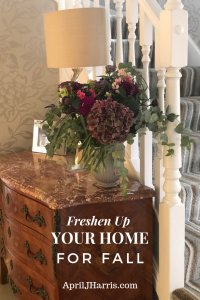 Don't miss these easy, inexpensive ways to freshen up your home for fall, brighten your surroundings and really get the most out of this lovely season!