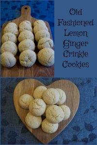 Little sugar-coated pillows, lightly crisp on the outside, tender & cake-like on the inside, these Lemon Ginger Crinkle Cookies are sure to please!