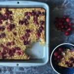 Gluten Free Cranberry Orange Baked Oatmeal