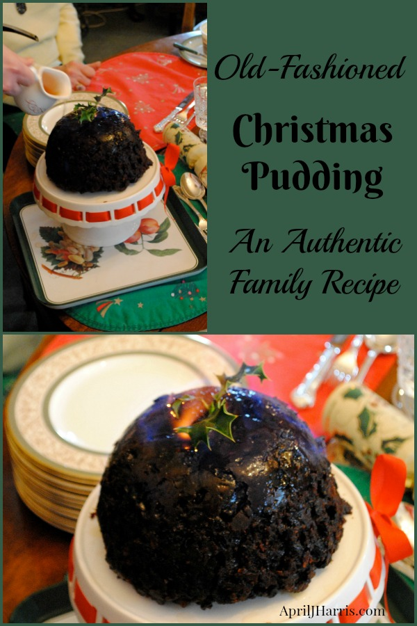 Old Fashioned Victorian Christmas Pudding - a traditional family recipe