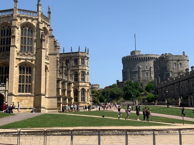 Visiting Windsor Castle and St George's Chapel