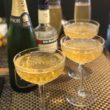 Vintage Champagne Cocktail Recipe - an easy 3 ingredient recipe