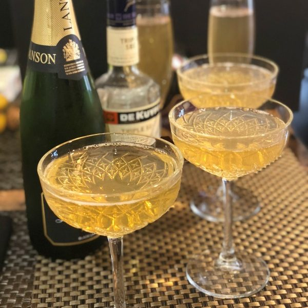 3 Ingredient Vintage Champagne Cocktail Recipe