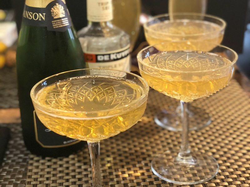 With bubbles, the warm kick of brandy and a hint of citrus, this easy 3 ingredient Vintage Champagne Cocktail is sure to delight your guests.