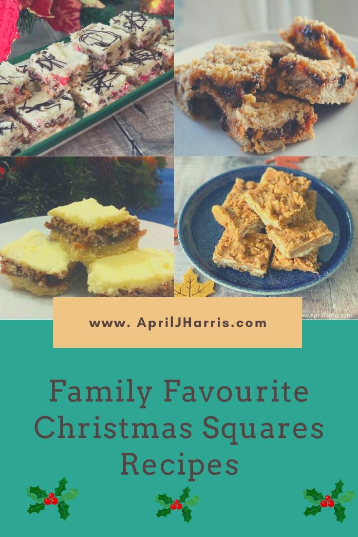 Family Favourite Christmas Squares Recipes
