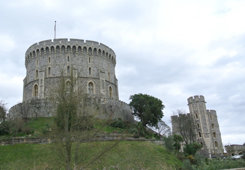 Visit ing Windsor Castle and St George's Chapel