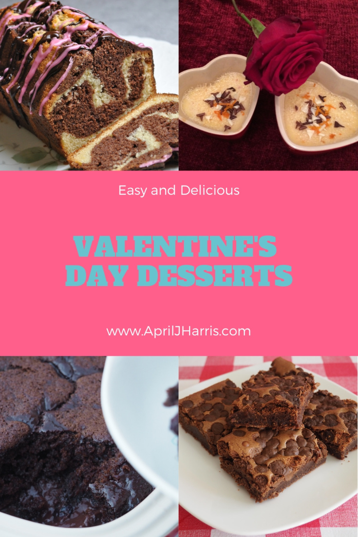 A collection of Valentines Day Desserts. There's a recipe for everyone here!