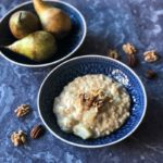 With natural flavours and no refined sugars, my Pear Walnut and Ginger Oatmeal is a healthy breakfast that tastes like a real treat!