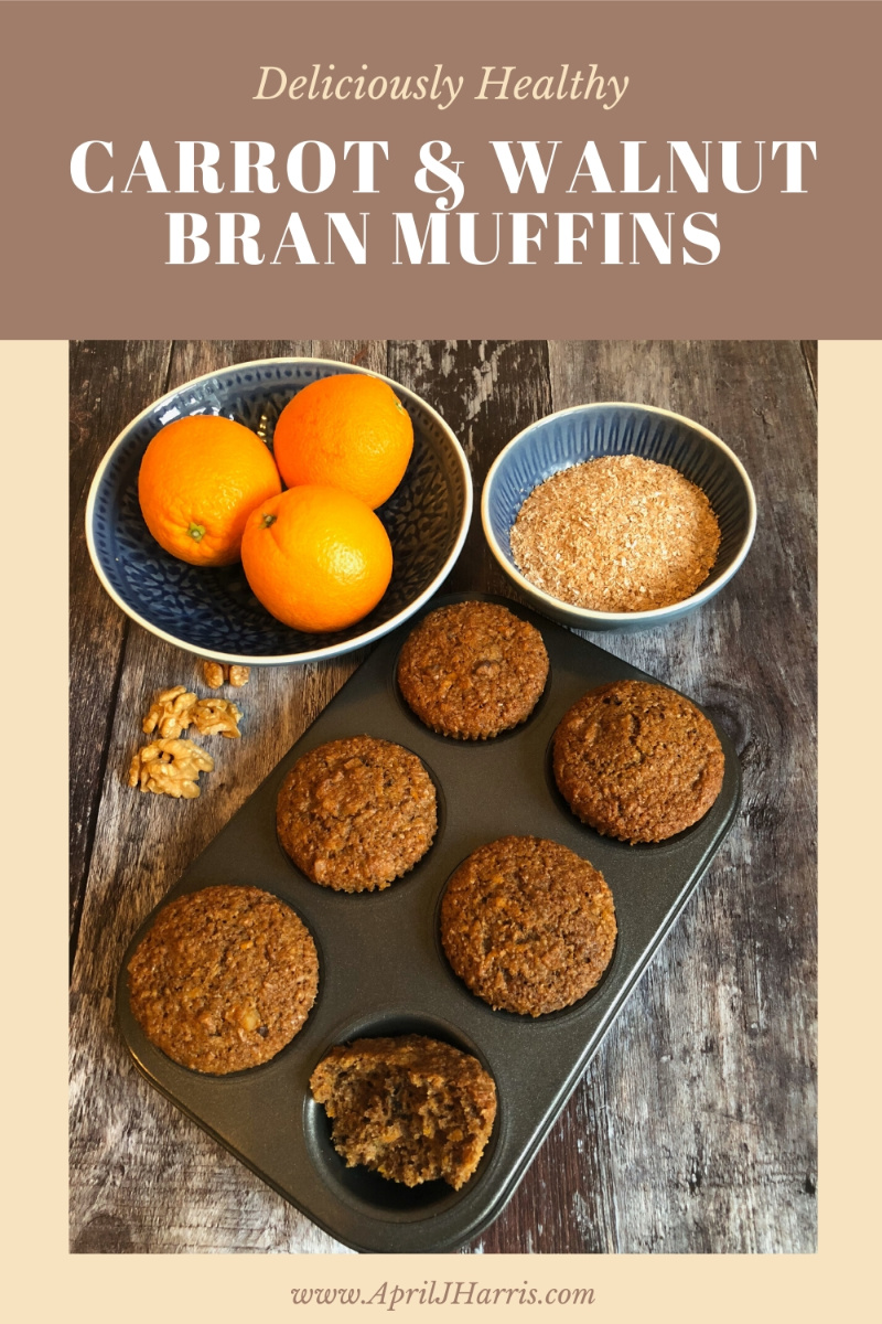 Carrot Walnut Bran Muffins Recipe