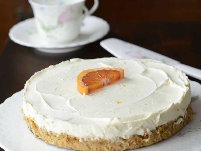 My Easy No Bake Orange Cheesecake recipe makes a deliciously rich yet light, refreshing and elegant dessert that is perfect for last minute entertaining.