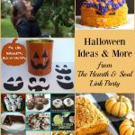 We've got Halloween Ideas and More at this week's Hearth and Soul Link Party. Join us for inspiration and to share family friendly blog posts about anything that feeds the soul!