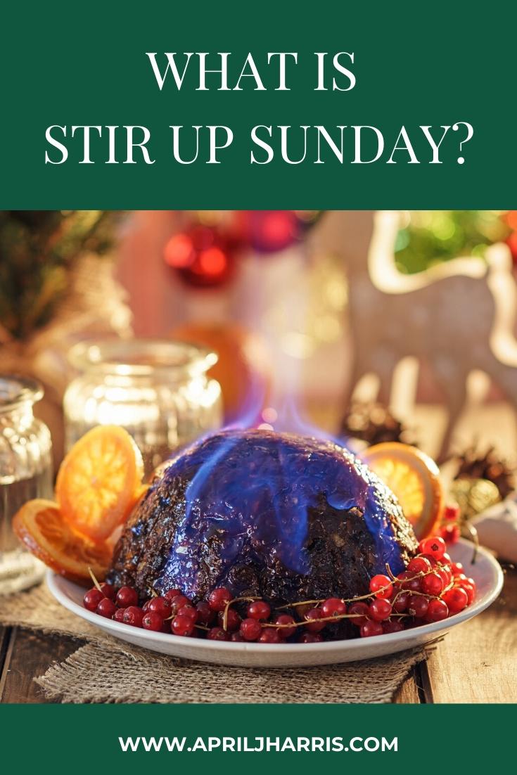 Christmas Pudding made on Stir Up Sunday