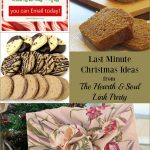 There are last minute Christmas ideas and more at this week's Hearth and Soul Link Party. Join our friendly link party community to share and be inspired!