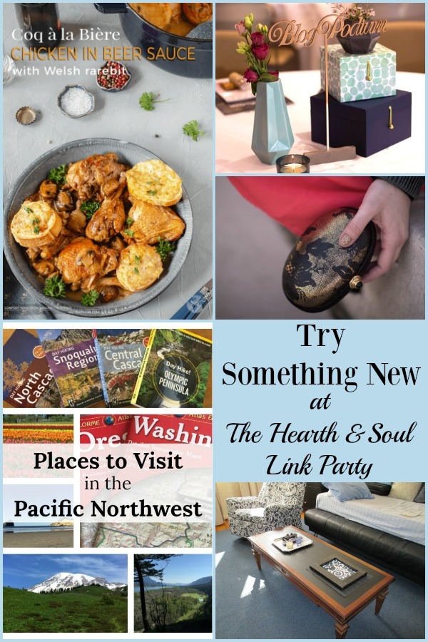 Try Something New with inspiration from this week's Hearth and Soul Link Party! We've got lots of great recipe, crafts and ideas to help you shake up your routine!