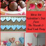 Love is in the air with Ideas for Valentine's Day at this week's Hearth & Soul Link Party. Come share your blog posts about anything that feeds the soul!