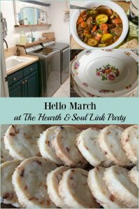 Hello March! At this week's Hearth & Soul Link Party we are celebrating the March's arrival & sharing inspiration to help you make the most of this month!