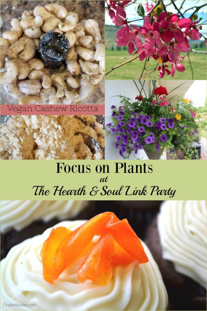This week the focus is on plants at The Hearth and Soul Link Party - plants to eat, plants to decorate with and gardens! Join us to be inspired & to share!