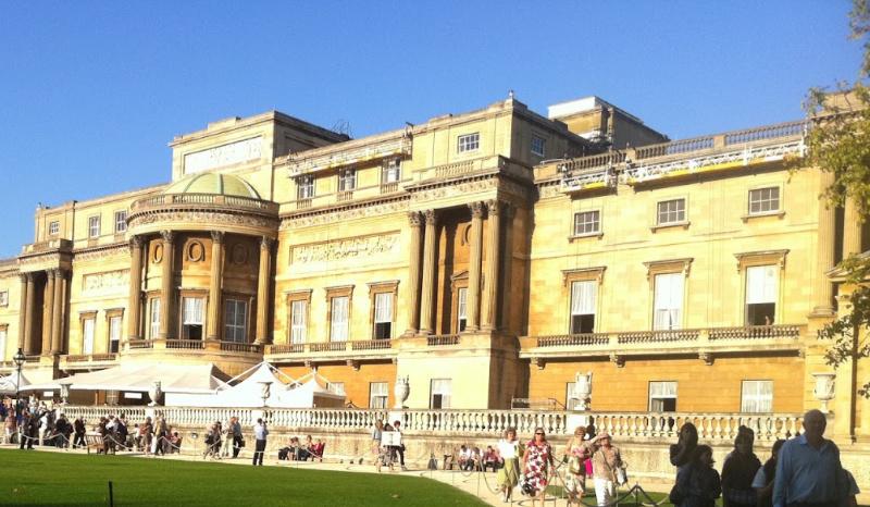 The Back of Buckingham Palace