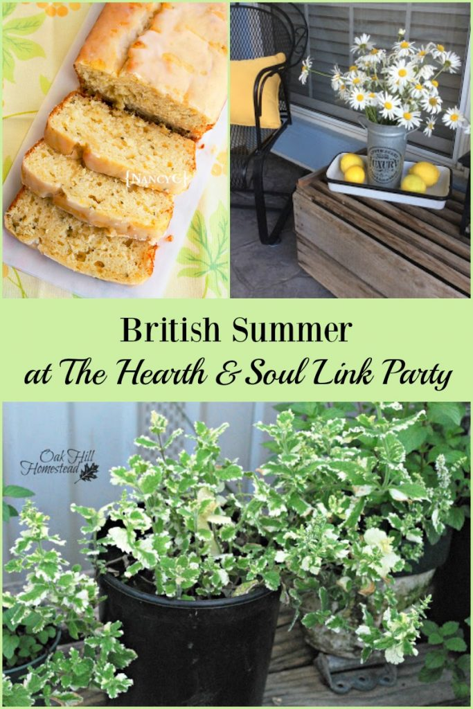 Celebrating the best of British summer at The Hearth & Soul Link Party this week plus all the things that make summer anywhere great!