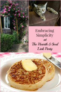 It's all about embracing simplicity at the Hearth and Soul Link Party this week. Join us and share family friendly blog posts about anything that feeds the soul