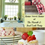 Can you love to travel, but still be all about home sweet home? Yes!! Join us at The Hearth & Soul Link Party for great ideas for both home and away!