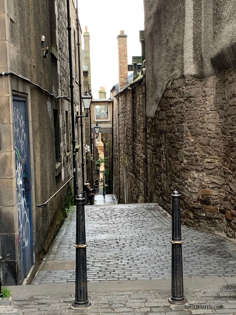 A Weekend in Edinburgh - exploring on foot