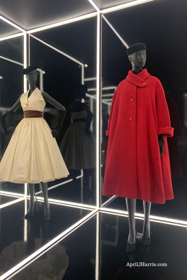 The breathtaking Christian Dior Designer of Dreams exhibit, which ran at the Victoria and Albert Museum earlier this year.