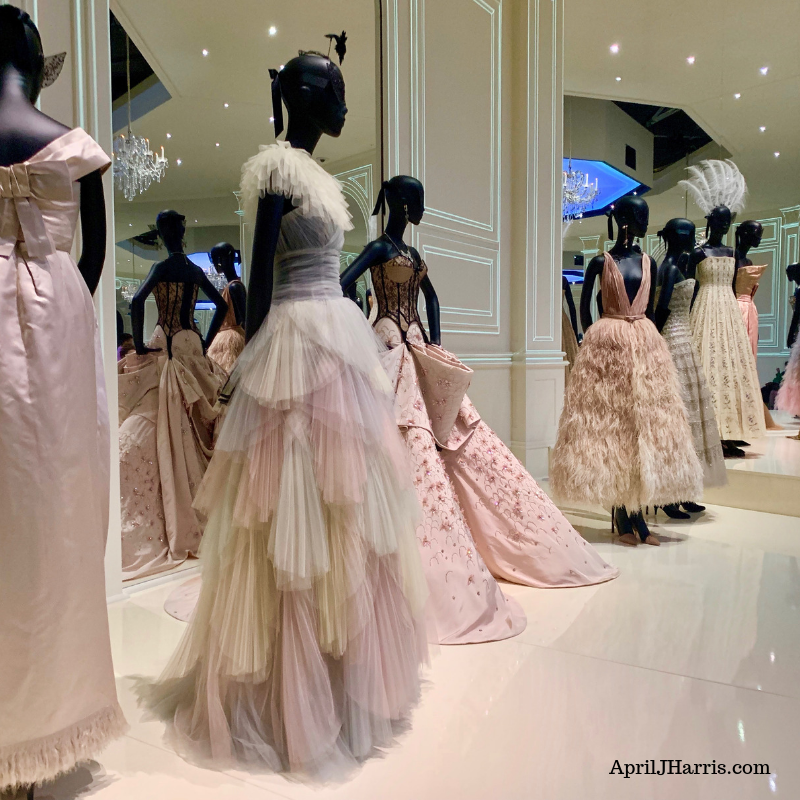 Christian Dior Designer of Dreams dresses and more