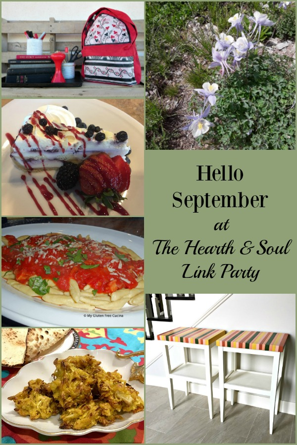 Hello September! We are welcoming this lovely month, full of promise and fresh starts, with great ideas and inspiration to help you make the most of fall!
