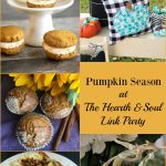 It's Pumpkin Season at the Hearth and Soul Link Party!