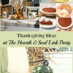 There's Thanksgiving ideas, recipes, crafts and more at the Hearth and Soul Link Party! Join us to share blog posts about anything that feeds the soul.