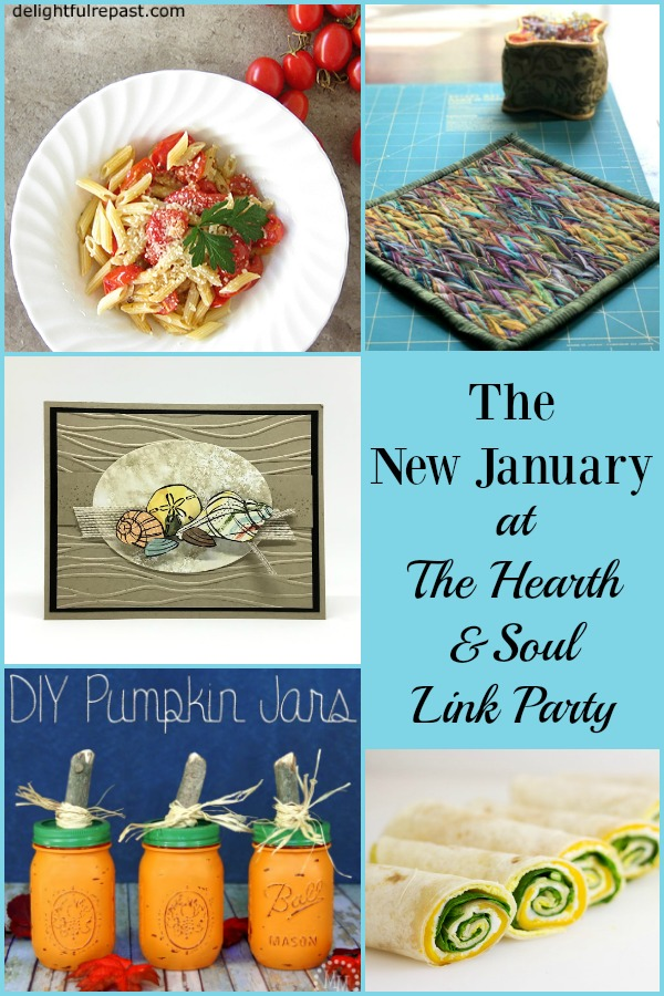 September is the new January at The Hearth and Soul Link Party this week. We've got lots of ideas, inspiration and encouragement to help make it this year's best month yet.