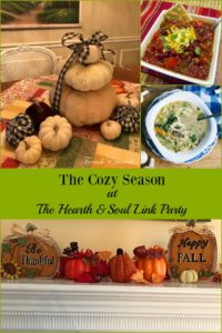 The Cozy Season at the Hearth and Soul Link Party