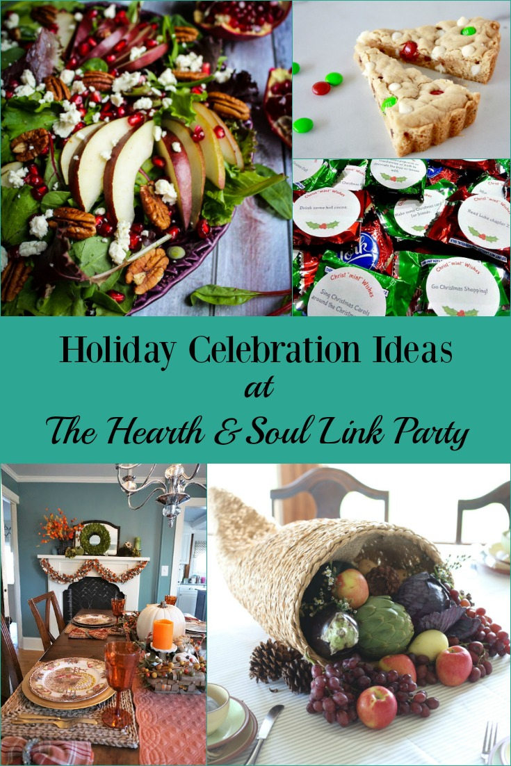 Holiday Celebration Ideas at The Hearth and Soul Link Party
