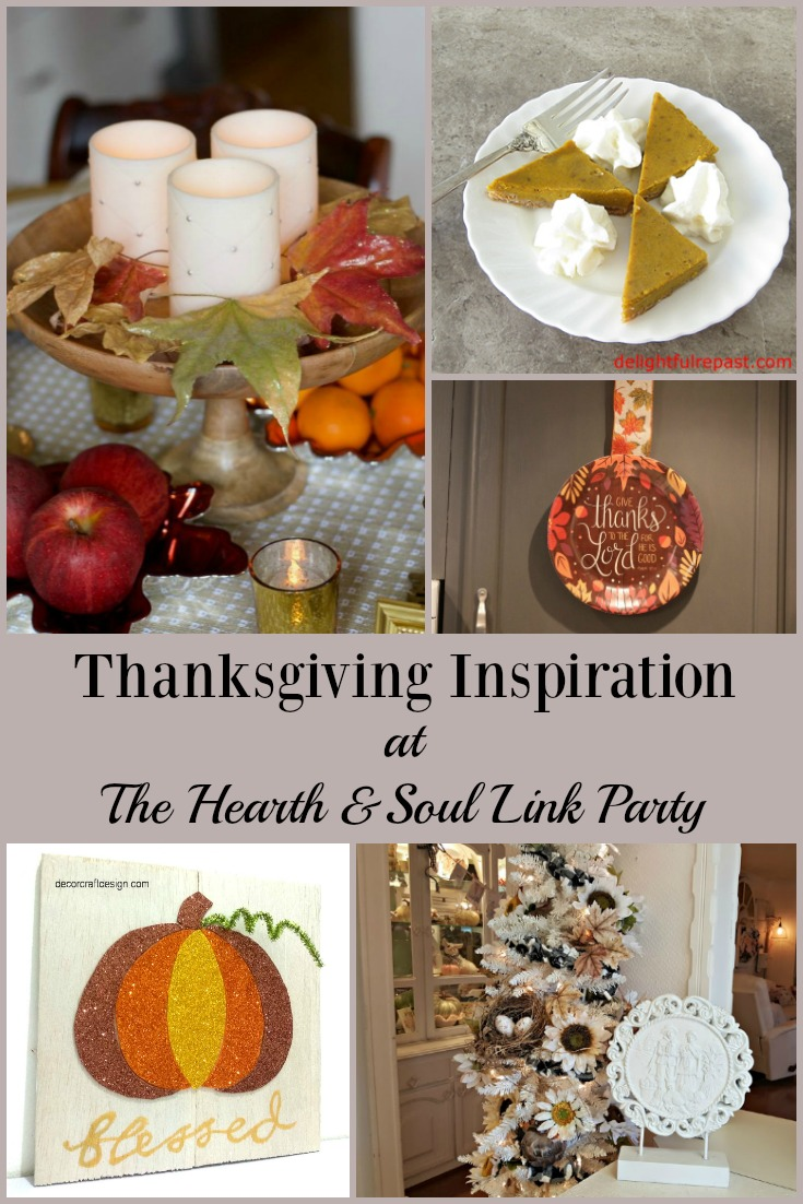 Thanksgiving Inspiration at The Hearth and Soul Link Party