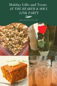 Holiday Gifts and Treats Features at the Hearth and Soul Link Party