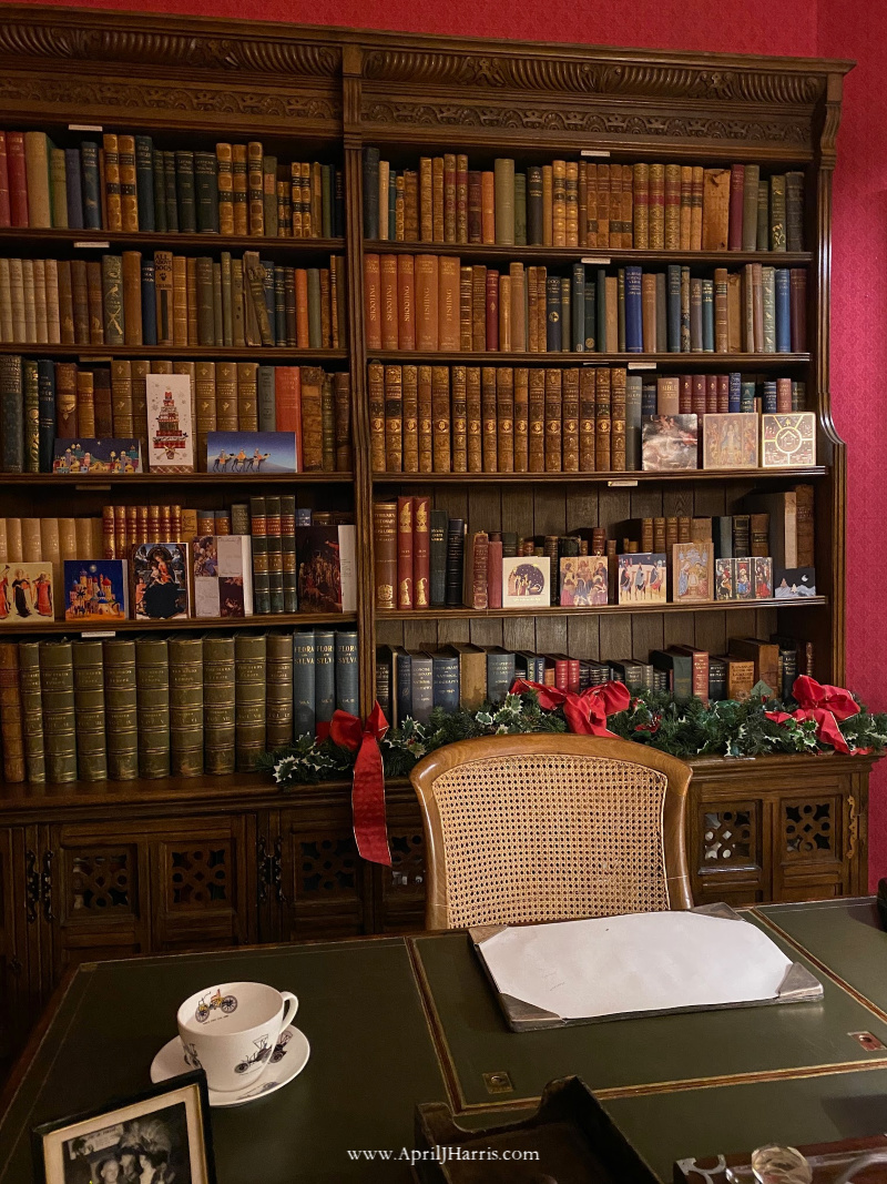 The Library at Beaulieu Palace House