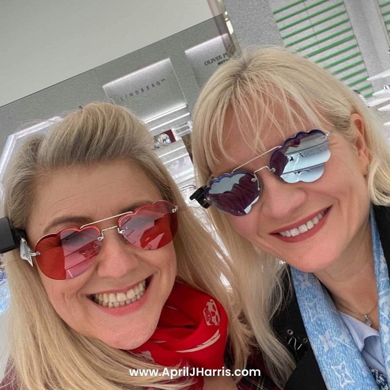 April J Harris and Sarah van Dort