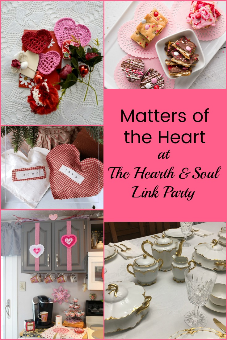 Matters of the Heart at The Hearth and Soul Link Party