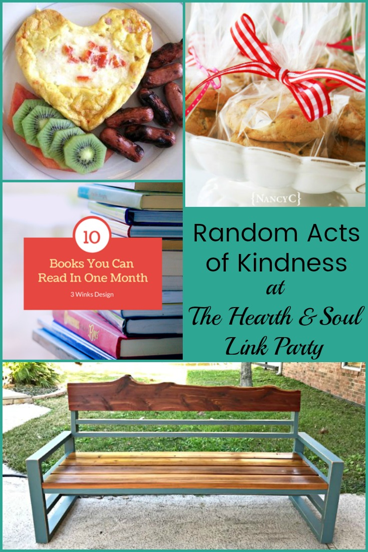 Random Acts of Kindness at The Hearth and Soul Link Party