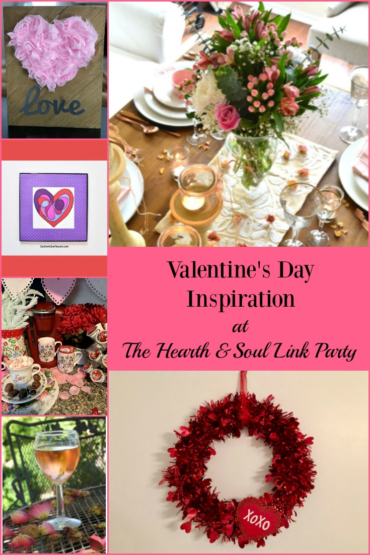 Featured Posts for Valentines Day Inspiration at the Hearth and Soul Link Party
