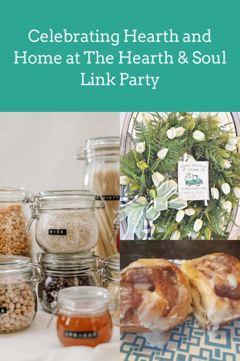 Celebrating Hearth and Home at The Hearth and Soul Link Party