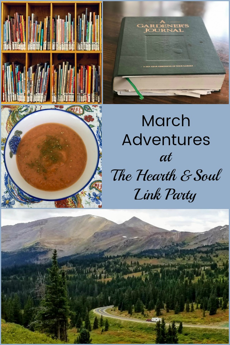 March Adventures at the Hearth and Soul Link Party